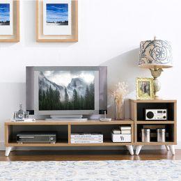 E-200-Oak  TV Stand