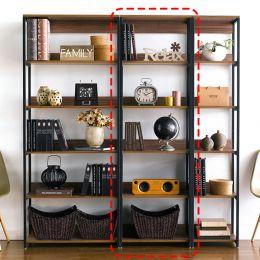 HB-600-Walnut  Bookcase