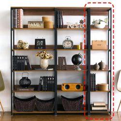 HB-400-Walnut  Bookcase