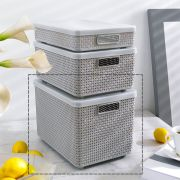 HH-LAG-GY  Storage Box   (뚜껑포함)