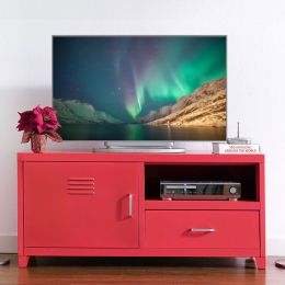 LLC-48A-Red  TV Stand