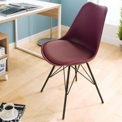 Liva-Purple  Chair