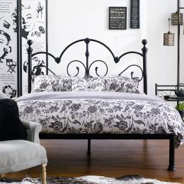 H9395-Q  Queen Metal Bed