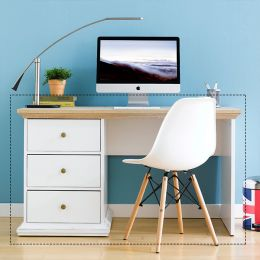 7782049ak Paris Desk White