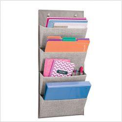 04582ES  Aldo Hanging 4-Pocket Organizer