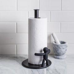 330280-040 Buddy Paper Towel-Black Holder
