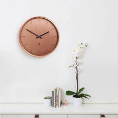 1004385-880 Meta-Copper Wall Clock