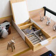 Reflexion-White  Jewelry Box