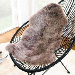 Mary Long Rug-Gray  Sheepskin