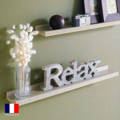 Sadie-Oak  Wall Shelf  (1 Pc)