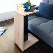ST-001-Nat/Blk  Mobile Table