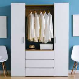 SRD-White-Hanger  2-Door  w/ Hanger