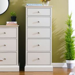 Ashby-Cotton-5D  5-Drawer Chest