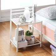 Billy-White  Side Table