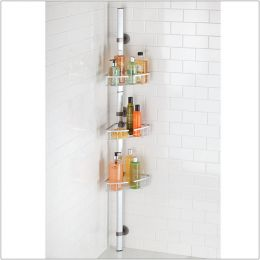 21476ES  Adjustable Corner Shower Station