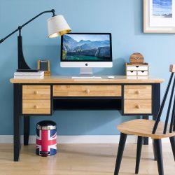 NB-Blue-Leg-Desk Leg Desk