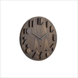 118080-746 Shadow-Aged Walnut Wall Clock