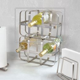 1005263-410 Pulse-Nickel Wine Rack