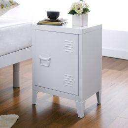 Grave-White  Metal Cabinet