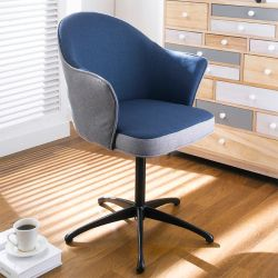 Minna-Dark Blue Accent Chair