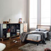 NB-Blue-SS Super Single Bed