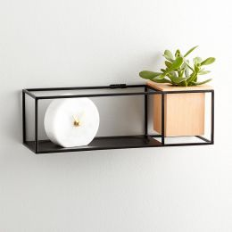 470755-427 Cubist Small-Sand Wall Shelf