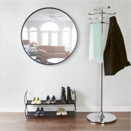 1008243-040 Hub 24-Black Wall Mirror