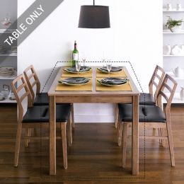Cindy-Walnut Dining Table (Table Only)