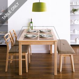 Cindy-Natural  Dining Table (Table Only)