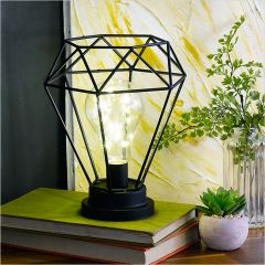 HD-3306-BK  Diamond Mood Lamp (LED)