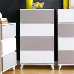 SG-604-IW 4-Drawer Chest
