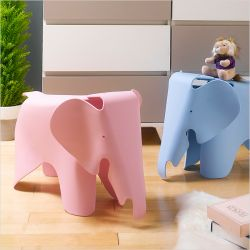 Elephant-Pink   Stool Chair