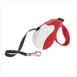 Amigo-MED Red-White  Retractable Leads