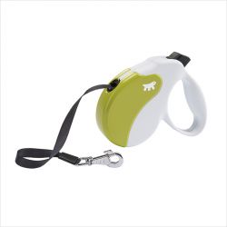 Amigo-MINI White-Green  Retractable Leads