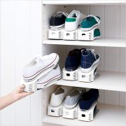 SHW-01-White  Wide Shoe Holder  (2개 포함)