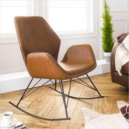 Stockholm-Brown  Rocking Chair