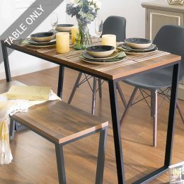Robe-Blk-ACA-TBL  Dining Table  (23t)