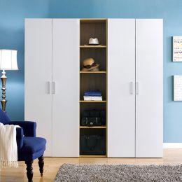 MC-8040   Triple Closet