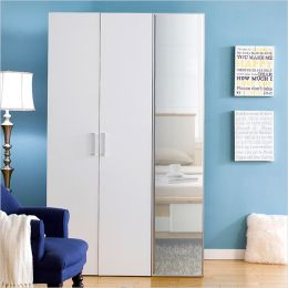MC-8030-A  Double Closet w/ Mirror Door