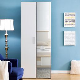 MC-8010-A   Single Closet w/ Mirror Door