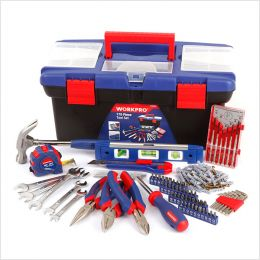 W009002  House Tool Set   (170 Pcs)