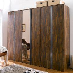AC-202-Acacia  3-Unit Closet w/ Mirror Door