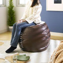 (0)Football   Bean Bag Cushion