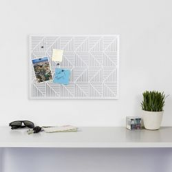 Trigon-White  Bulletin Board