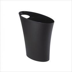 082610-040 Skinny-Black Waste Can