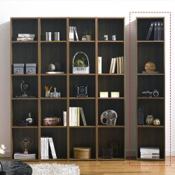 WB-400-Acacia  1-Unit Bookcase
