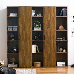 WB-305-Acacia  Wall Bookcase  (5 Pcs)