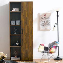 WB-302-Acacia  2-Unit Bookcase  (2 Pcs)