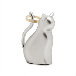 Anigram Cat-Nickel  Ring Holder