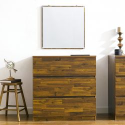 AD-30-Acacia  3-Drawer Chest